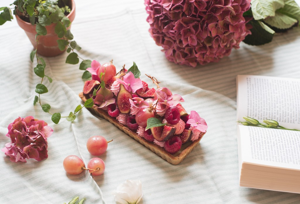 La tarte d'octobre rose - Lili Blue Cherry blog lifestyle -6